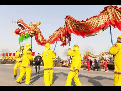 very interesting Chinese new year dragon costume