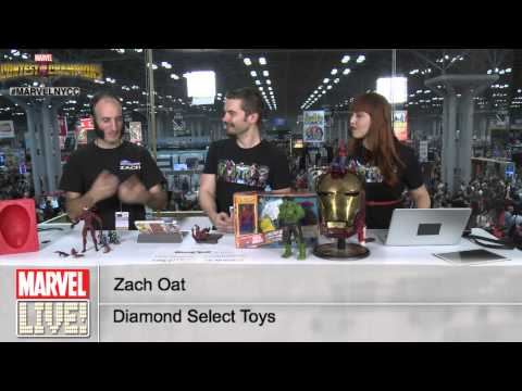 Check Out Some Exclusive Marvel Toys From Diamond Select at New York Comic Con 2014