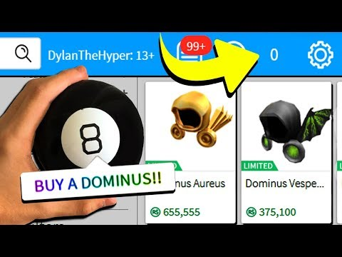 MAGIC 8 BALL SPENDS ALL OF MY ROBUX!! (Roblox)