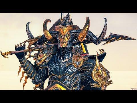Dragon Armour of Aenarion: High Elves vs Dark Elves - Total War WARHAMMER 2 Cinematic Battle