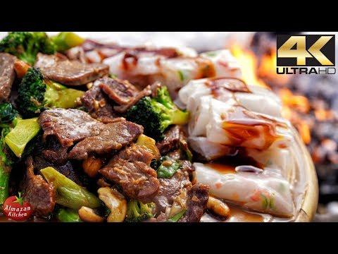 Best Szechuan Beef Ever! - Winter Cooking in 4K