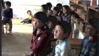 1992 Tashi Jong Tibetan Community School, India, lower grade school children