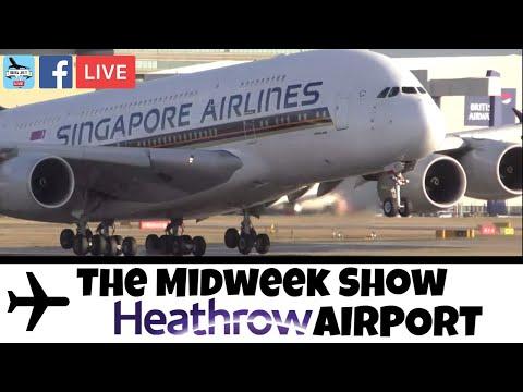 JETSTREAM #78: Heathrow Airport LIVE! 30 Minute Freeview