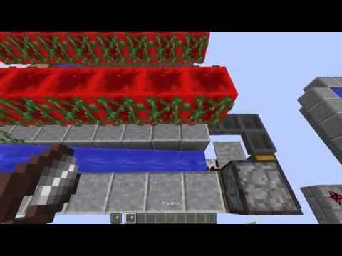 Minecraft-super efficent afk vine farm tutorial