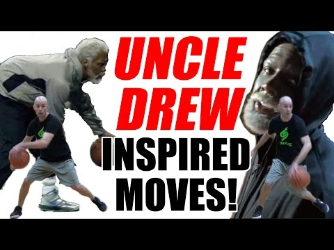 CRAZY UNCLE DREW Combos! Kyrie Irving Ankle Breakers: Basketball Moves