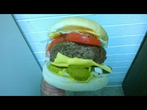 Cast Iron Cooking Hamburgers