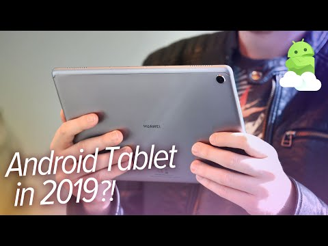 Huawei MediaPad M5 Lite: Android Tablets still a thing in 2019?! [Impressions]