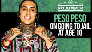 Peso Peso on Going to Jail at Age 10, Signing to Sauce Walka