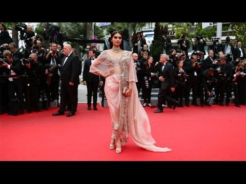 Stunning Sonam Kapoor at Cannes 2014 for Loreal Paris
