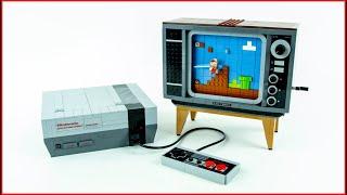 LEGO Creator 71374 Nintendo Entertainment System Speed Build - Brick Builder