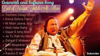 Best of Nusrat Fateh Ali Khan - Top 10 Qawwali & Sufiana Song