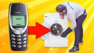 Download Nokia 3310'u Çamaşır Makinesine Attık - Yine De Çalıştı Mı? Video