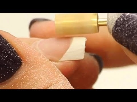 Acrylic Nail: Realignment, Infill and Reshape Tutorial Video by Naio Nails