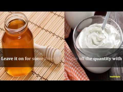 Honey and Yogurt to get rid of Razor Bumps
