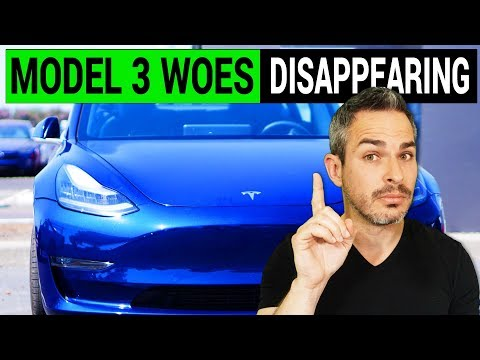 Tesla Model 3 Woes May Disappear Soon