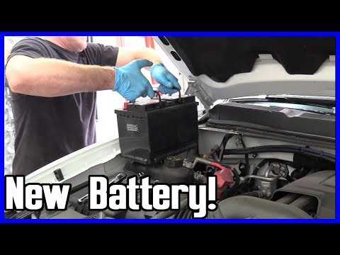 How to Replace the Battery Chevrolet Silverado Suburban Tahoe 5.3L 2006-2014