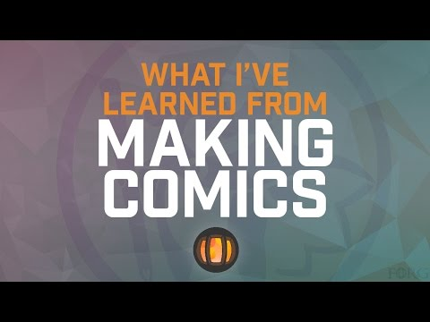 What I've Learned From Making Comics