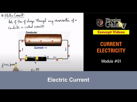 1. Physics Lecture of 11th Class | Current Electricity | Electric Current | by Ashish Arora
