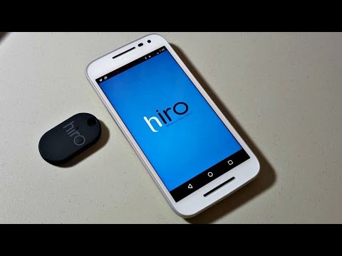 Hiro Review - Never lose anything again!