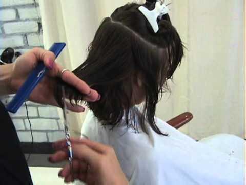 Part 1 of 2 MODERN MARILYN - POINT CUT Hair Design by Sharon Sovinski