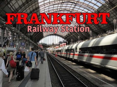 Frankfurt am Main Hauptbahnhof | Railway Station | Germany