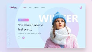 How To Make Website Using HTML \u0026 CSS Step By Step   Modern Web Design Tutorial