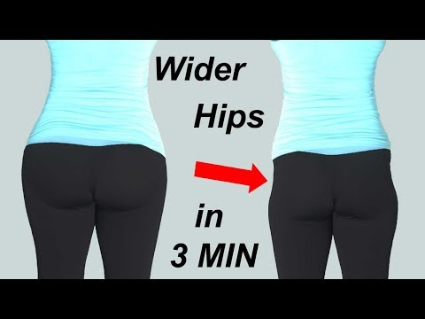 WIDER HIPS WORKOUT AT HOME  | Squats  to Fix Hip Dips| NO EQUIPMENT| hip dip workout