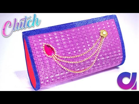 How to make clutch at home | handbags for women | step by step making | DIY | Artkala 178