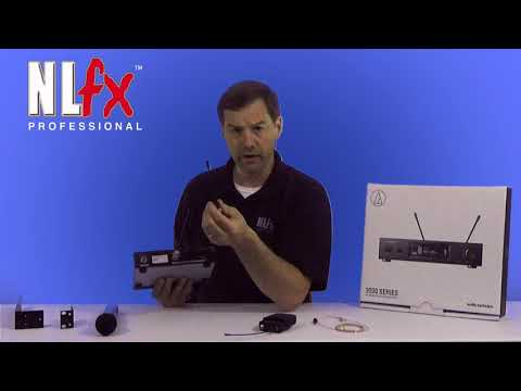 NEW Audio-Technica 3000 series with NLFX Professional