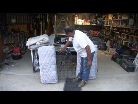 How To Make Cushions With A Old Bed Matress
