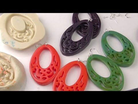 Resin Jewelry with ComposiMold's ImPRESSive Putty and ComposiCast Resin