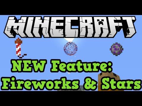 Minecraft Xbox (360 + One) Firework Rocket & Firework Star (TU19 New Features)