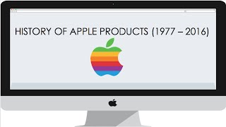 Apple Product History | 1977 - 2016