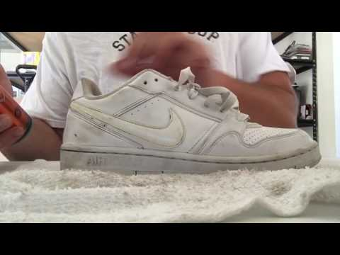 SELLING USED SHOES ON EBAY PT 3 CLEANING SNEAKERS + SOFSOLE REVIEW