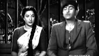 Shree 420 - Raj Kapoor - Nargis - Nadira - Romantic Highlights from the movie