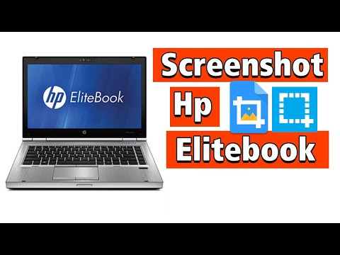 How to take screenshot on HP ELITEBOOK laptop models