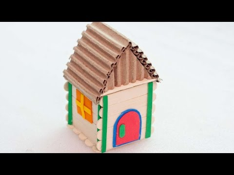 How To Make A Miniature Gingerbread House Box - DIY Crafts Tutorial - Guidecentral