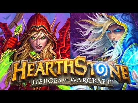 Hearthstone League of Explorers! - Rogue and Mage Class Challenges!