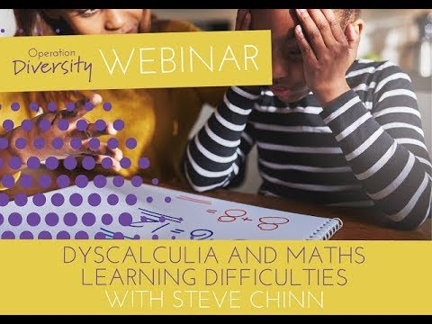 Dyscalculia, Dyslexia and Maths Learning Difficulties