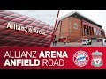 Allianz Arena Or Anfield Road FC Bayern Vs FC Liverpool