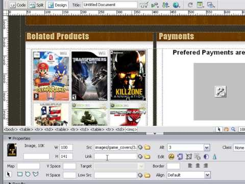 Build Your Own eBay Template   Linking Our Images Lesson 11