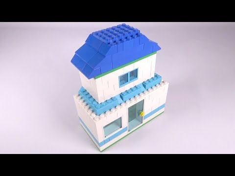 Lego Basic House (002) Building Instructions - LEGO Classic How To Build - DIY