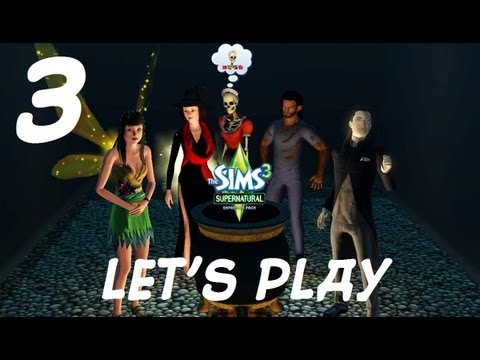 Lets Play- The Sims 3 Supernatural (Part 3) - Bad Witch