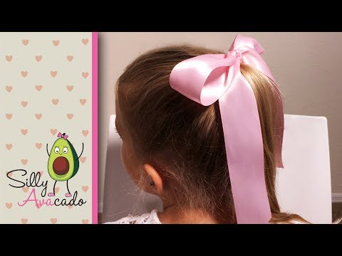 How to Tie a Perfect Bow! 💜  Easy Ribbon Hair Bow Tutorial!
