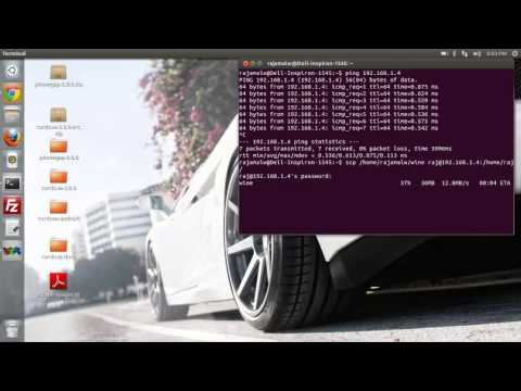 How to Transfer files between Linux PC's using Terminal