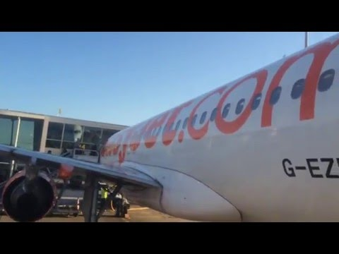 Easyjet A319 Flight Review: Amsterdam Airport Schipholt- London Stansted