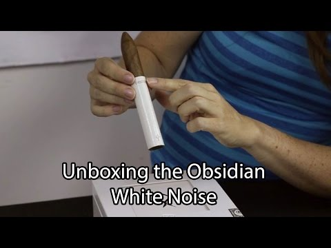 Unboxing the Obsidian White Noise