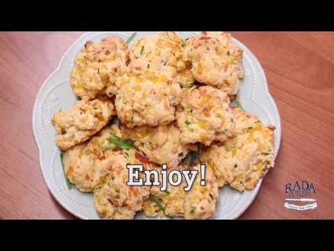 Garlic Cheddar Biscuits Recipe | RadaCutlery.com