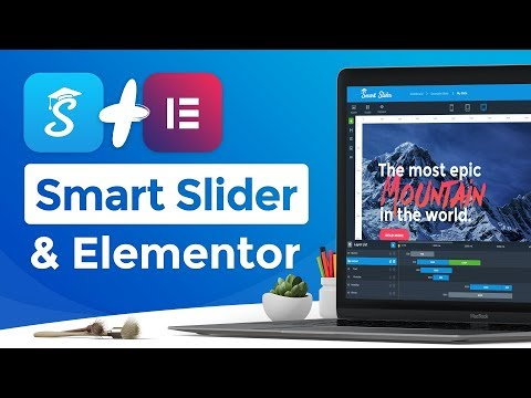 Smart Slider 3 & Elementor - How to create sliders for Elementor