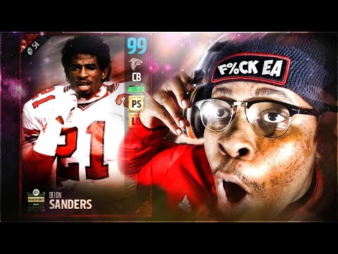 THE MADDEN BOWL 99 OVERALL DEION SANDERS! HOW TO GET A FREE ONE 👀 ?!?!  Madden 17 Ultimate Team